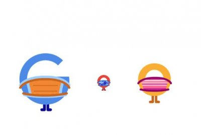 Google urges users to wear a mask in new Doodle