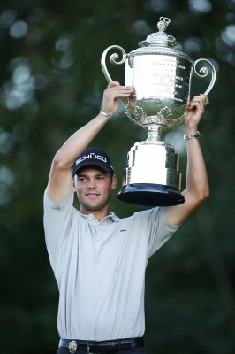 Kaymer, McDowell tie for golf honor