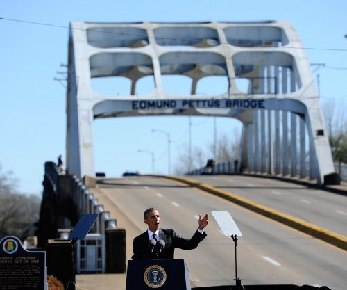 President Obama praises Selma marchers who gave 'courage to millions'
