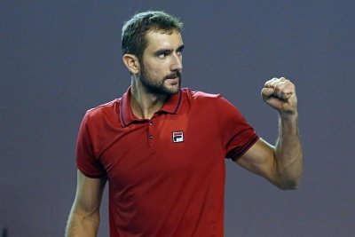No. 1 seed Marin Cilic rallies for World Tennis win