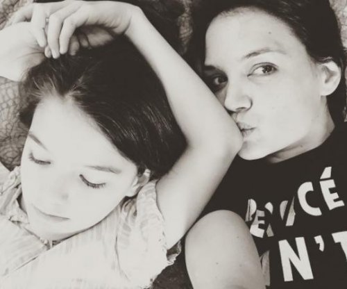 Katie Holmes celebrates Mother's Day with daughter Suri