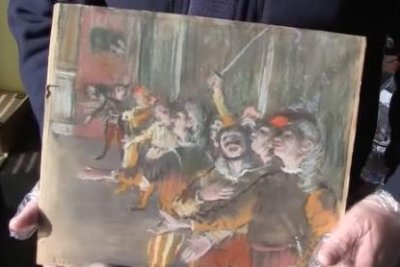 France confirms authenticity of stolen Degas paining found on bus
