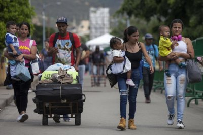 U.N. agency says there are now 3 million Venezuelan migrants