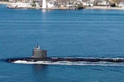 General Dynamics Electric Boat delivers Vermont submarine to Navy