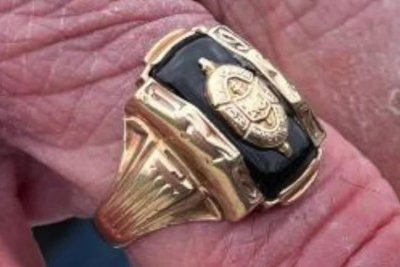 Ohio man's lost high school ring found 53 years later