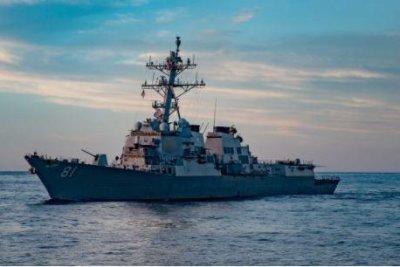 U.S. Navy destroyer arrives in Port Sudan, days after Russian frigate