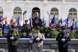 Biden honors fallen police and calls for more support for an increasingly difficult profession