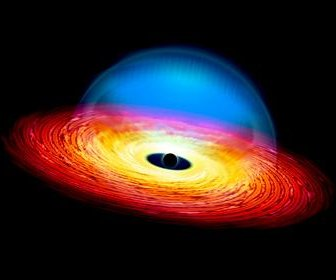 Scientists blame dieting black hole for dimming quasar