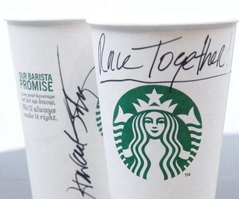Starbucks starts campaign to discuss racism