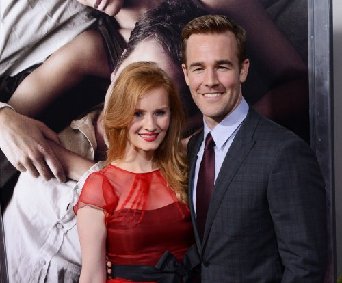 James Van Der Beek shares photo of newborn daughter Emilia