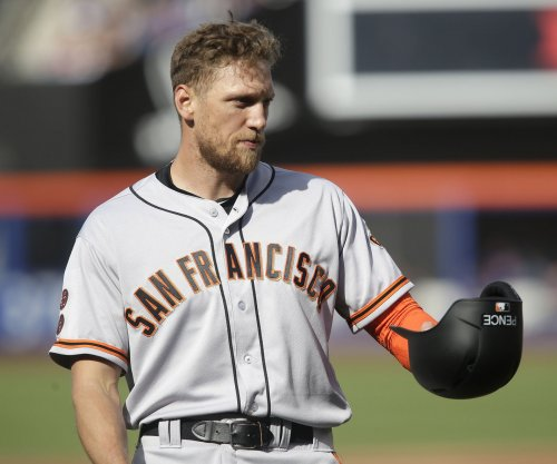 San Francisco Giants' Hunter Pence expected out longer than normal DL stint