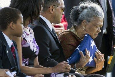 Olympian and Tuskegee Airman 'Marvelous Mal' buried at Arlington