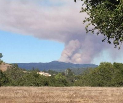 Wildfire near Santa Cruz, Calif. jumps to more than 2,000 acres