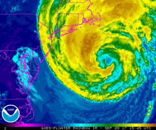 Tropical Storm Jose to produce dangerous surf along U.S. East Coast