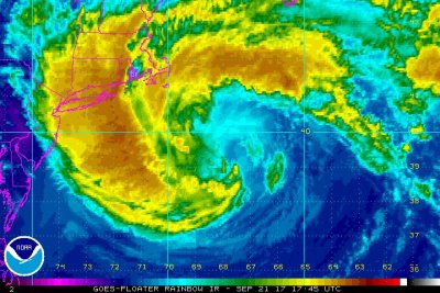 Tropical Storm Jose 'meandering' off coast of southern New England