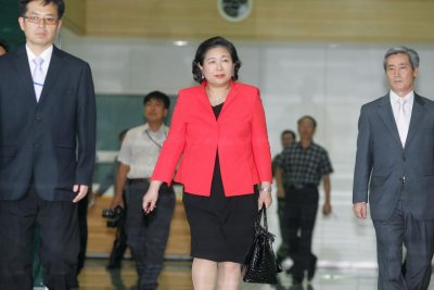 Hyundai chairwoman invited to visit North Korea