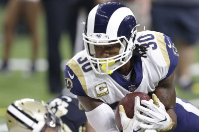 Rams RB Gurley dealing with inflammation in knee