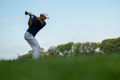 PGA Championship: Tiger Woods climbs leaderboard with birdies, eagle
