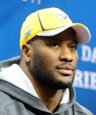 Steelers' Harrison mocks Goodell's fines