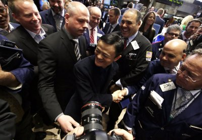 Alibaba IPO makes founder Jack Ma richest man in China