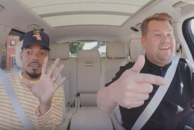 Chance the Rapper joins James Corden for Carpool Karaoke