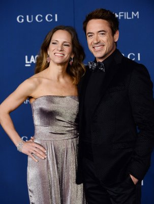 Robert Downey Jr. celebrates wife's 40th with bacon cake