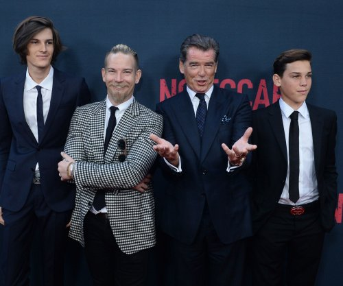 Pierce Brosnan and his sons attend 'No Escape' premiere