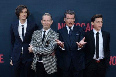 Pierce Brosnan and his sons attend 'No Escape' premiere