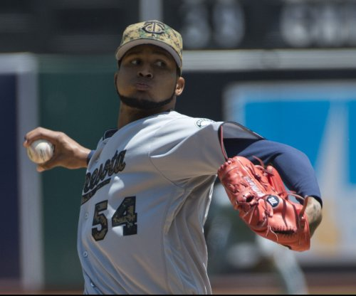 Minnesota Twins' Ervin Santana tosses two-hitter to shut out Oakland