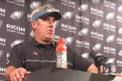 Doug Pederson admits to jitters prior to Philadelphia Eagles' debut