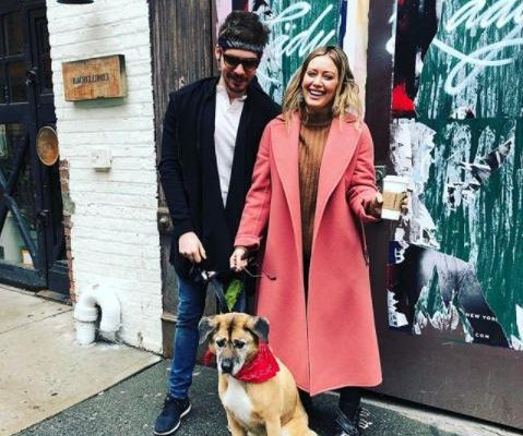 Hilary Duff, boyfriend Matthew Koma adopt dog together