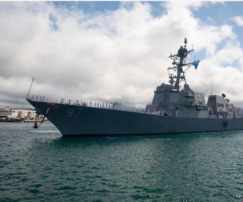 BAE contracted for repairs, upgrades on guided-missile destroyer USS Halsey
