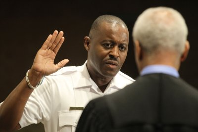 New Ferguson police chief Delrish Moss: 'Let's get to work'