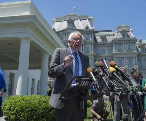 Sanders vows to press on after Obama White House meeting