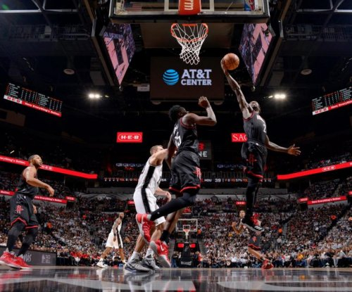 Houston Rockets power up past San Antonio in Game 1
