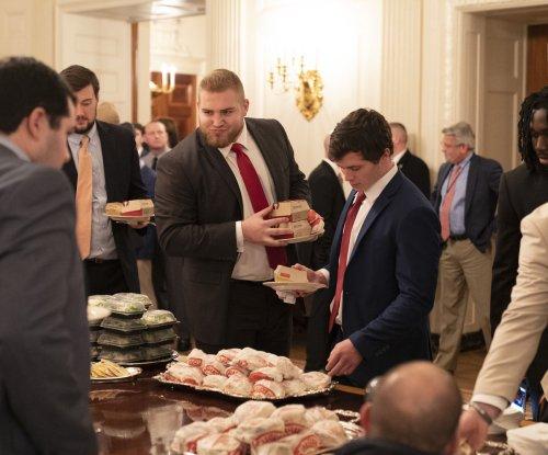 Trump has McDonald's, Wendy's, Burger King menu for Clemson football visit