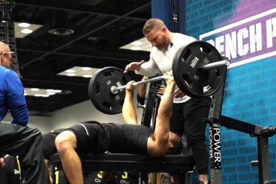 Arizona State punter Michael Turk steals show with 25 bench press reps at combine
