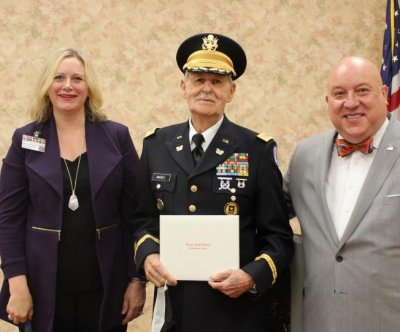 84-year-old Korean War veteran presented with high school diploma
