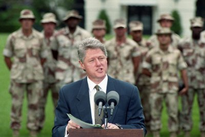 On This Day: Clinton announces 'don't ask, don't tell' policy