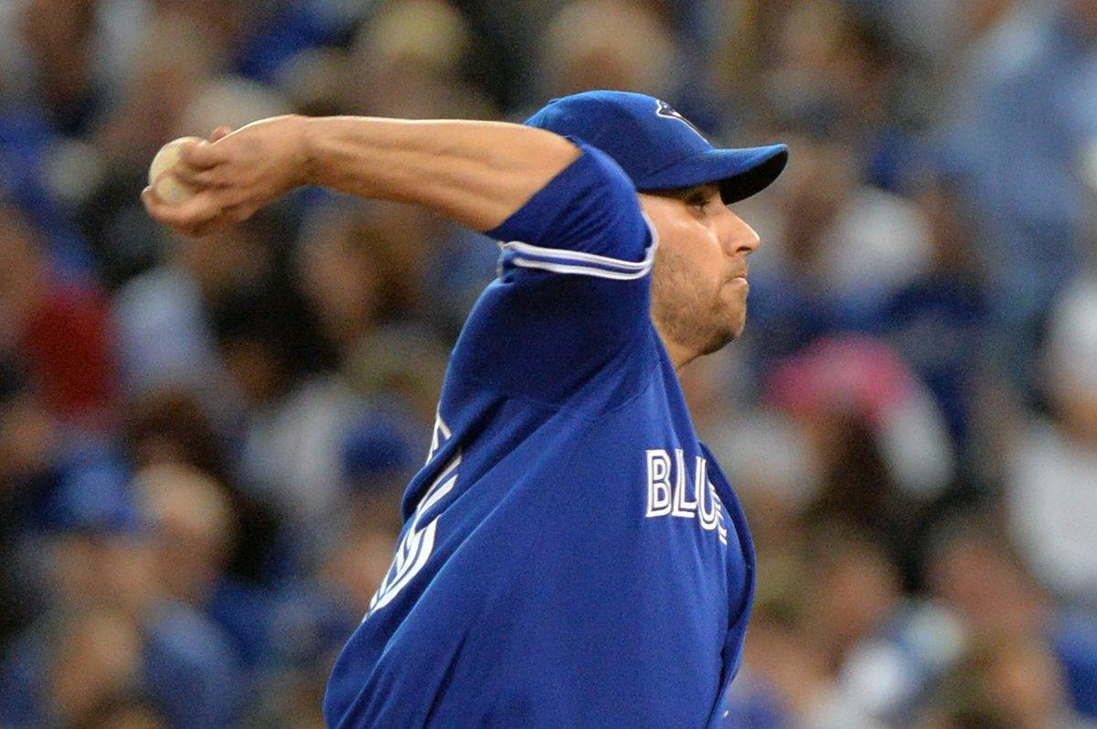 Marco Estrada pitches Toronto Blue Jays past Boston Red Sox - UPI.com