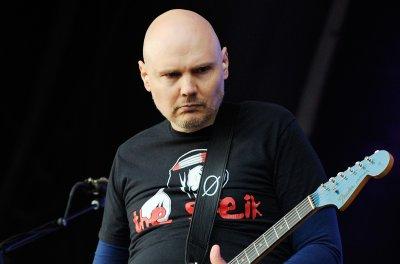 Billy Corgan introduces newborn daughter Philomena