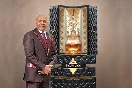 Image result for Opulent perfume bottle breaks three world records