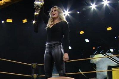 WWE NXT: Charlotte Flair takes out Rhea Ripley and Io Shirai