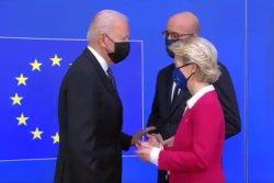'America is back': European Union leaders welcome Biden at EU-U.S. Summit