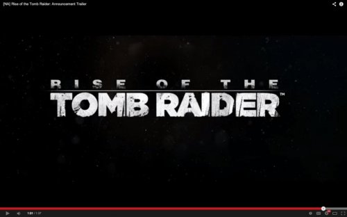 Tomb raider sequel to be Xbox exclusive game