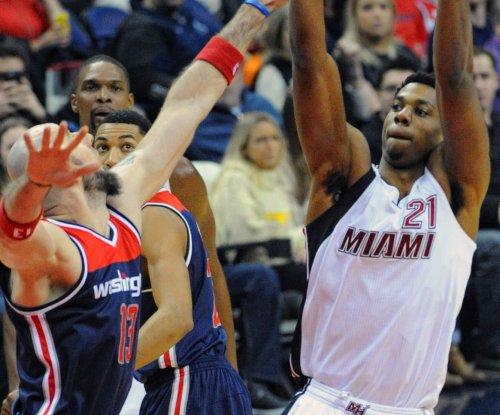 Hassan Whiteside leads Miami Heat past Washington Wizards