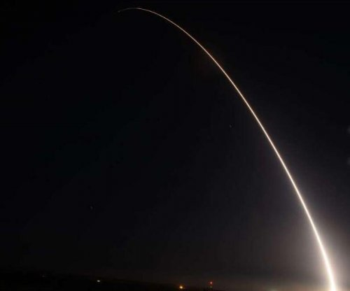 U.S. Air Force test-launches antiballistic missile from California