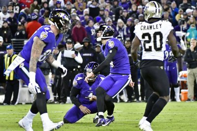 Saints survive Ravens on stunning missed extra point
