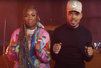 Brandy, Chance the Rapper share 'Baby Mama' music video ahead of Mother's Day
