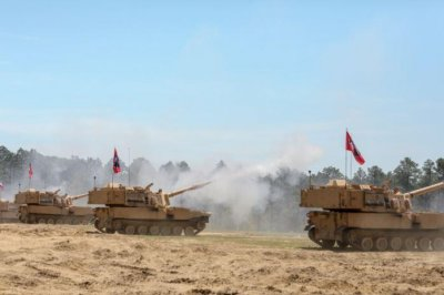 N.C. National Guard unit first to use new Army M109A7 Paladin howitzer